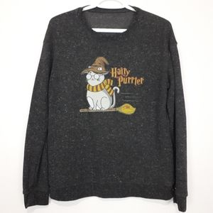 Sweaters - HARRY POTTER Hairy Purrter Pullover